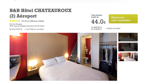 B&B Hotel Chateauroux Aéroport (2)