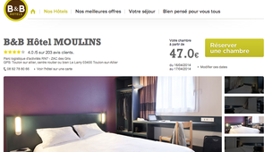 hotel moulins pas cher partir de 45 annuaire moulins. Black Bedroom Furniture Sets. Home Design Ideas