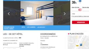 hotel rouen pas cher partir de 39 annuaire rouen. Black Bedroom Furniture Sets. Home Design Ideas