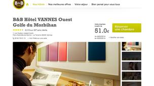 hotel vannes pas cher partir de 29 annuaire vannes. Black Bedroom Furniture Sets. Home Design Ideas