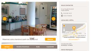 hotel dieppe pas cher partir de 32 annuaire dieppe. Black Bedroom Furniture Sets. Home Design Ideas