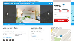 hotel le puy en velay pas cher partir de 39 annuaire le puy en velay. Black Bedroom Furniture Sets. Home Design Ideas
