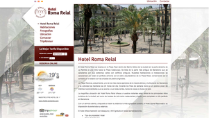 Hotel Roma Reial Barcelone