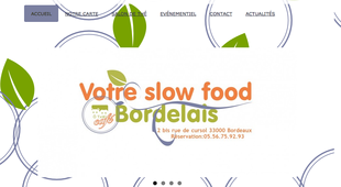 Votre Slow Food Bordelais