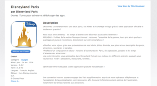 iTunes - Application Disneyland Paris