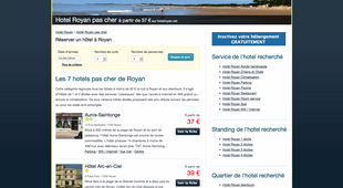 Hotel royan pas cher partir de 37 annuaire royan for Site pour reserver hotel pas cher