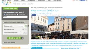 Hotel nimes pas cher partir de 25 annuaire nimes for Site pour reserver hotel pas cher
