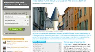 Hotel nancy pas cher partir de 22 annuaire nancy for Site pour reserver hotel pas cher